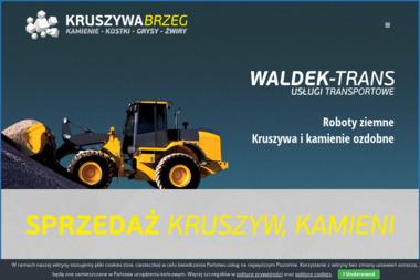 Waldek-Trans - Nawierzchnie Brzeg