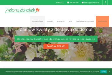 Kwiaciarnia Zielony Zakątek - Kwiaty Poznań