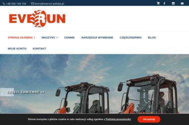 Everun - Miniładowarki Warszawa