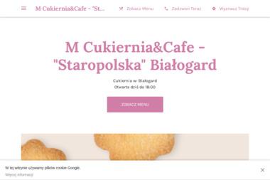 M Cukiernia & Cafe - Staropolska - Cukiernia Białogard