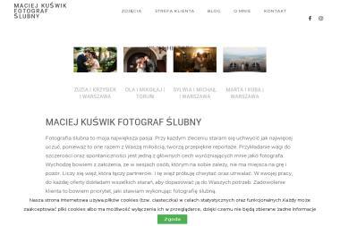 Maciej Kuświk fotograf - Sesje zdjęciowe Płock