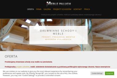 Zakład Stolarsko – Meblowy Jan Paluch - Schody Krempachy