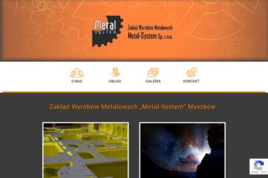 """Z.W.M. """"Metal-System"""" Sp. z o.o. - Spawacz Myszków"""