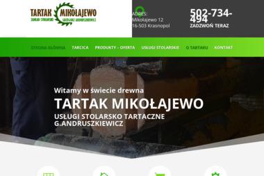 TARTAK MIKOŁAJEWO - Drewno Budowlane Krasnopol