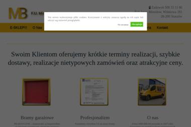 MIR-BRAM - Sprzedaż Bram Staszów