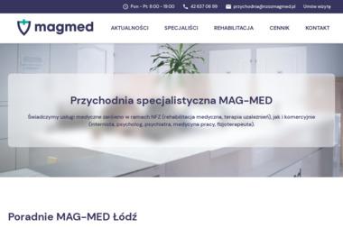 MAG-MED Niepubliczny Zakład Opieki Zdrowotnej - Rehabilitanci medyczni Łódź