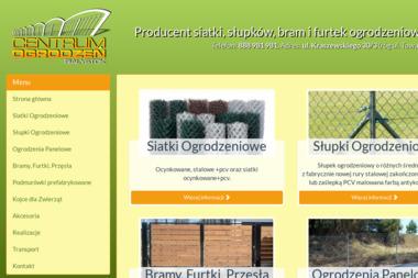 Centrum Ogrodzeń Białystok - Ogrodzenia panelowe Białystok