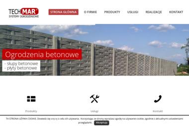 P.P.H.U Tech Mar - Producent Ogrodzeń Betonowych Białystok