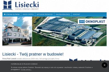 Lisiecki - Okna, Drzwi, Bramy - Bramy garażowe Pajęczno
