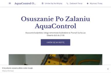 AquaControl - Osuszanie Suchy Las