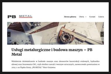 """P.P.H.U. """"PB METAL"""" - Spawacz Myszków"""