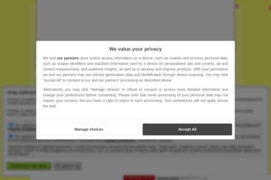 """Zakład Produkcyjno Handlowo–Usługowy """"PŁOTEK"""" - Przęsła Ogrodzeniowe Betonowe Hajnówka"""