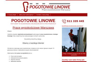 Pogotowie Linowe - Zadaszenia Balkonów Płock