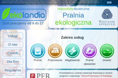 Eko-Landia - Maglowanie Łódź