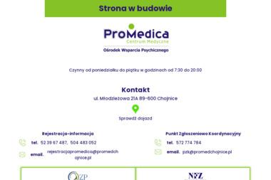 """Centrum Medyczne """"Promedica"""" - Terapia uzależnień Chojnice"""