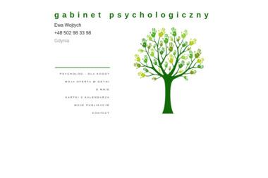 Gabinet Psychologiczny Ewa Wojtych - Psycholog Gdynia