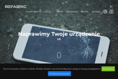 Serwis Refabric - Serwis komputerów, telefonów, internetu Poznań