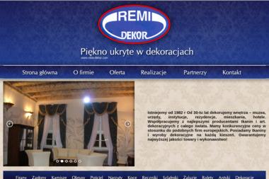 REMI-DEKOR - Firany na Wymiar KRAKÓW