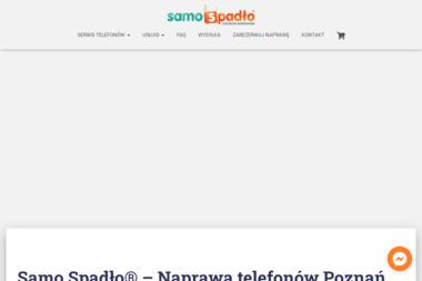 Samo Spadło Centrum Serwisowe - Serwis komputerów, telefonów, internetu Poznań