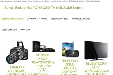Serwis Elektronika FOTO GSM - Serwis telefonów Konin