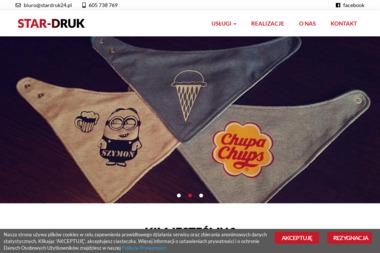 StarDruk - Nadruki Wywab i Brokat Przystajń