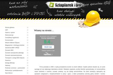 Sztaplarek i BHP Rados艂aw Ha艂uniewic - Szkolenia techniczne Gdynia