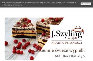 """Cukiernia """"Jan Szyling"""" - Cukiernia Włocławek"""