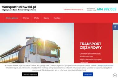 Transport Rutkowski - Żwir Biały Zgorzelec
