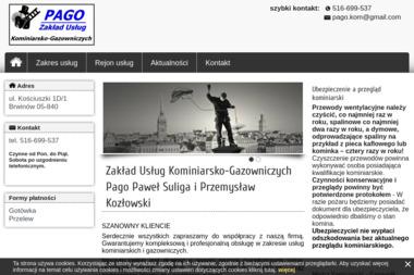Usługi kominiarskie PAGO - Czyszczenie Komina ze Smoły Brwinów