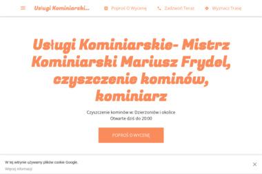 Usługi Kominiarskie - Mistrz Kominiarski Mariusz Frydel - Usługi Kominiarskie Dzierżoniów