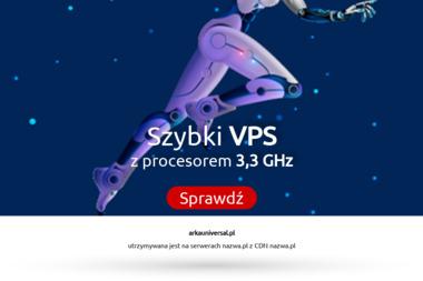 Arka Universal - Ubezpieczenie firmy Zawiercie