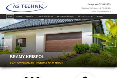 AS-TECHNIC - Bramy garażowe Ostrzeszów