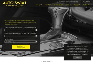 AUTO ŚWIAT - Wypożyczalnia samochodów Mińsk Mazowiecki
