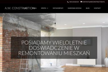 A.W. CONSTRUCTION - Gładzie Zabrze
