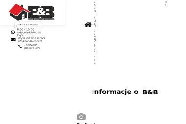 """Przedsiębiorstwo wielobranżowe """"B & B"""" - Zadaszenia Balkonów Kielce"""