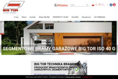 BIG-TOR - Bramy garażowe Bydgoszcz