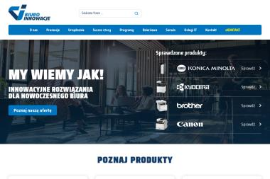 BIURO INNOWACJE PŁAWIŃSKI SZULIM SPÓŁKA KOMANDYTOWA - Kserokopiarki A4 nowe Warszawa