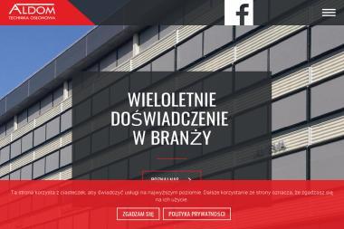 ALDOM Technika Osłonowa - Bramy Koszalin