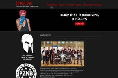 Sparta - Sporty walki, treningi Chrzanów