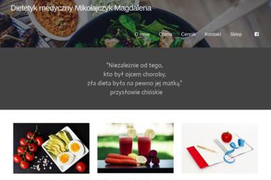 Poradnia Dietetyczna Mikołajczyk Magdalena - Dietetyk Suwałki