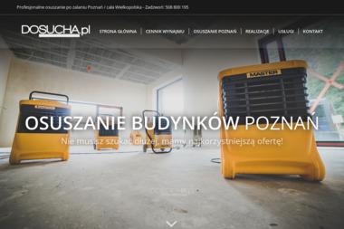 DOSUCHA - Osuszanie, odgrzybianie Poznań