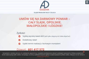 AD Dudziak - Bramy garażowe Jankowice