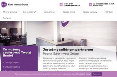 Euro Invest Group - Firma konsultingowa Łódź