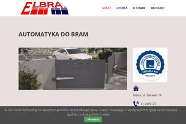ELBRA s.c. Automatyka do bram i rolet - Bramy Garażowe Kielce