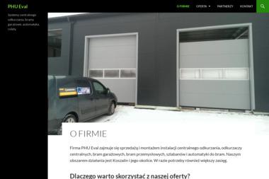PHU Eval - Bramy Garażowe Segmentowe Koszalin