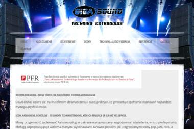 GIGASOUND - Nagłośnienie, oświetlenie Szczecin