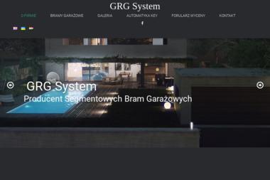 GRG SYSTEM - Bramy garażowe Łowce