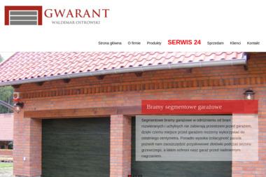 GWARANT - Bramy Garażowe Segmentowe Olsztyn