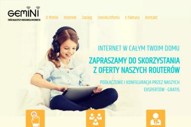 "Informatyka Telekomunikacja ""GEMINI"" - Internet Pisz"