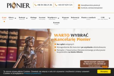 Kancelaria Pionier Mazurek i Bal SC - Radca prawny Lubliniec